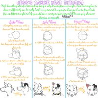 Jess's Canine Face Tutorial by Jess4921