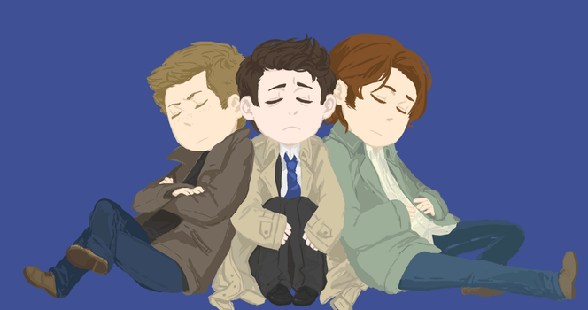 fluffy team free will by shinyunicorntears