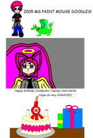 OLD: 2005 MS Paint Mouse Doodles! by TheRebelPhoenix