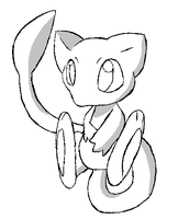Mew base by Artistonfire