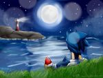 Sonic at the sea -remake- by MOON231