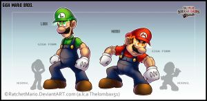 Giga Mario Bros. by RatchetMario