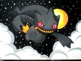 Midnight Banette by XYZ888