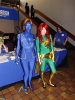 Mystique And Phoenix by Neville6000