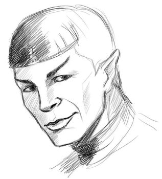 Spock by DarkMousyR