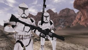 Phase I Clone Troopers by CptRex