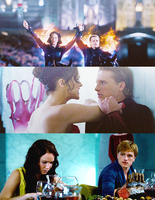 Peeta / Katniss by Linds37