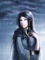 Raining by Oviot
