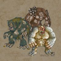 Concept Art : Troll by polawat
