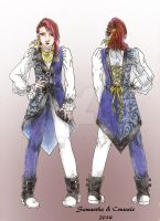 OC: Original Visual Kei Outfit by Samy-Consu