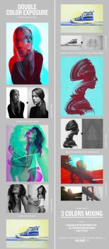 Double Color Exposure by GraphicAssets