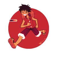 Color Palette Challenge- LUFFY! by theanimemaster2