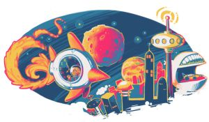 Doodle 4 Google 2012: A looooong trip! by cocokat