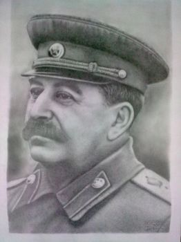 Joseph Stalin by WillemNL