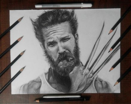 Tom Hardy as Wolverine by artistic-otaku-taran