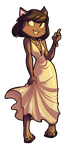 Lackadaisy Sundress by Crispy-Gypsy