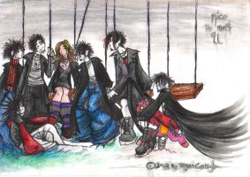 VAMPIRES ON SWINGS by glittersniffer