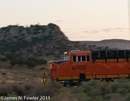 Westbound Through Gallup by texasghost