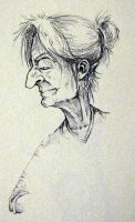 old woman by scarybuttfreezer
