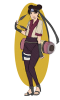Tenten Outfit Design by BayneezOne