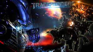 Autobots vs Decepticons by xTiiGeR