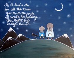 Holding the Night Sky by andralynn