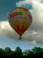 Hot-air balloon 3 by Eliann