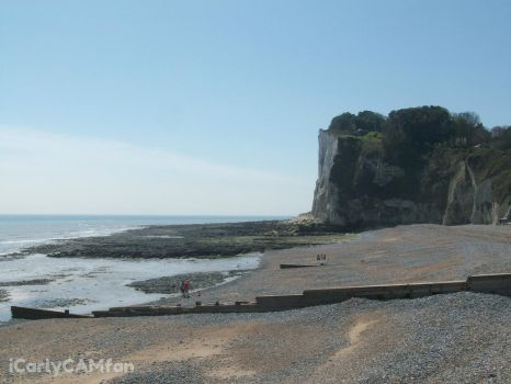 White Cliffs of Dover by iCarlyCAMfan