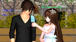 MMD Jeff X Jane A simple date by Blackrabbit1234
