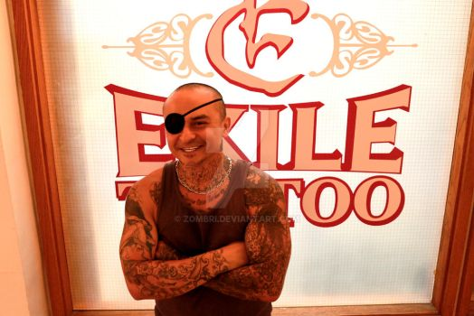 Jimmy - Exile Tattoo by Zombri