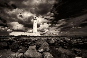 the light house by almiller