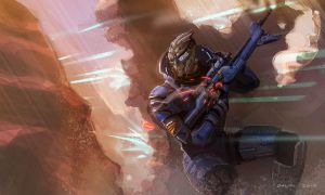 Garrus - Scratch that one by axl99