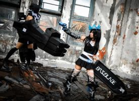 Strength 5- black rock shooter by psycomeh