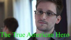 Edward Snowden - True Hero by Jax5485