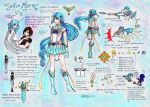 Sailor Marin's Ref Sheet by g-i-i