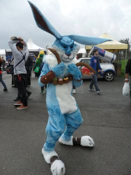 Bunnymund cosplay by LaviCosplay