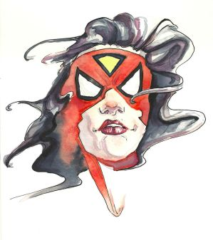 Spider-Woman by Dewheart85
