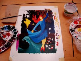 Painting In Progress... by ShesABromide