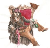 it's CAPTAIN jack sparrow by mallornleaf