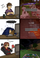 Dat MineCraft Playerzzzzz..... by PolisBil