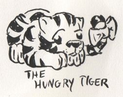 The Hungry Tiger by HiloHello