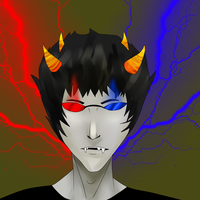 Sollux mouse drawing by orochiXdemonXshiku