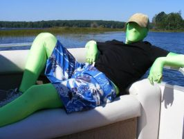 Greenman don't care by beachtownkid