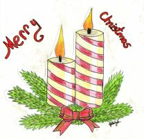 Greeting Card for DeviantART Holiday Card Project by lestat1991