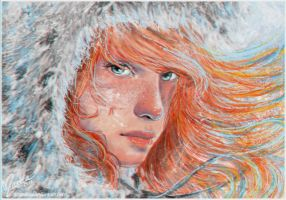 Ygritte: Kissed by Fire by Atramina