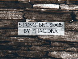Stone Brushes by phaeidra