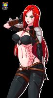 Katarina Normal Skin by Kyoffie12