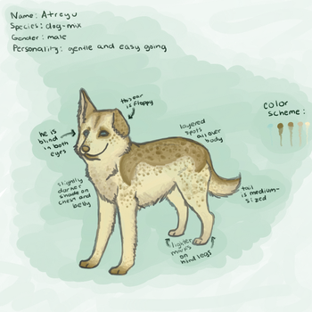 Atreyu ref by Attack-Fox