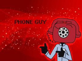 Phone Guy is also cool by Wyldstyle101