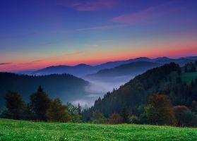 Fog in Bukovina. by lica20